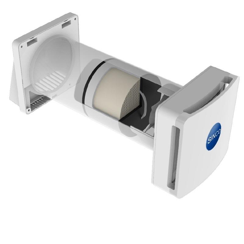 sistema de ventilacion forzada para lofts y estudios