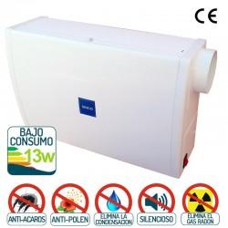 Sistema de ventilación forzada para vivienda de SINCO