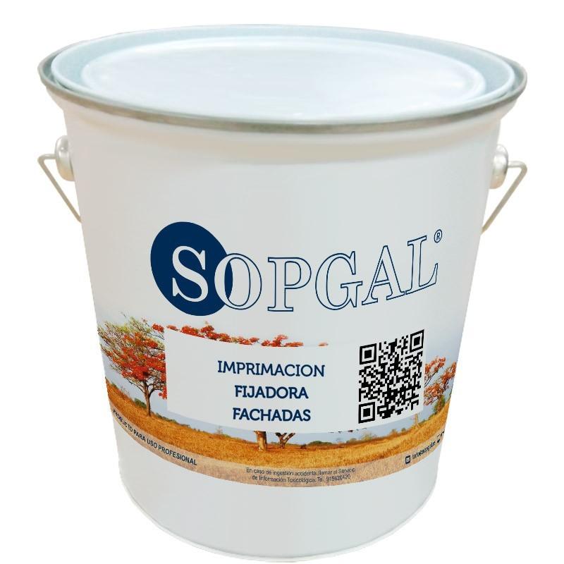 Imprimación fijadora para fachadas concentrada de Sopgal