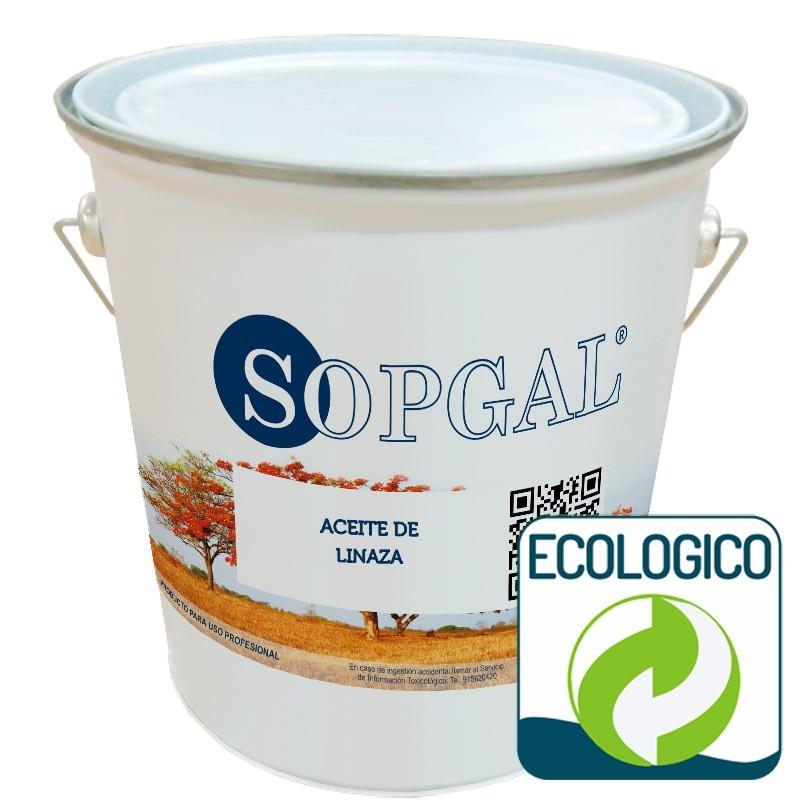 Aceite de Linaza con Secantes de Sopgal para tratamientos de madera