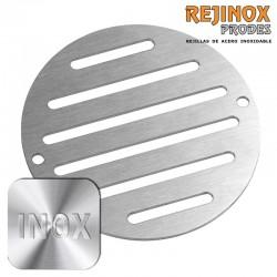 Rejilla redonda Rejinox Prodes de acero inoxidable para desagües y sumideros