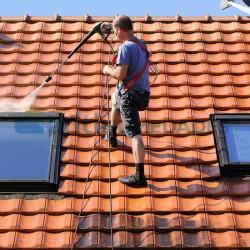 Limpiar tejados con Limpiador de Tejados, Fachadas y Suelos de Antihumedades