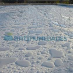 Suelo impermeabilizado con membrana Líquida de poliuretano impermeabilizante elástica Sopgal