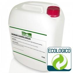Detergente Limpiador. Producto fungicida Idroless elimina las manchas de humedad