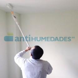 Pack detergente limpiador y pintura térmica Eco Antihumedades para romper puentes térmicos en vivienda
