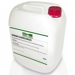 Detergente Limpiador para fachadas e interiores de Idroless con propiedades fungicidas elimina las manchas