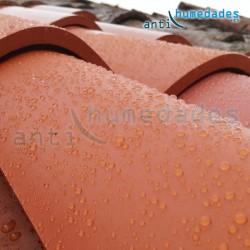 Repelente de agua para fachadas y tejados con nanoparticulas