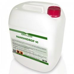Producto hidrófugo Nanohidrof-9S Solvent de Idroless elimina las humedades por filtración