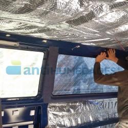 Aislante térmico reflexivo para aislar del frío y del calor