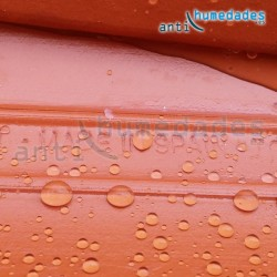 Repelente de agua con nano particulas apto para tejados y materiales muy porosos