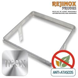Marco de acero inoxidable encastrable para rejillas anti-atascos Rejinox Prodes