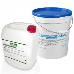 Pack Pintura Eco AntiHumedades 15 litros +Limpiador 1 litro Idroless