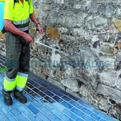 Repelente de Orines Idroless para evitar las manchas y olores provocados por la orina en aceras y fachadas