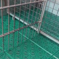 Loseta ventilada antihumedad verde