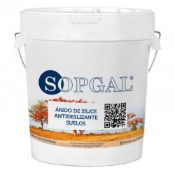 Árido de Sílice Sopgal Antideslizante para Suelos 25 kg