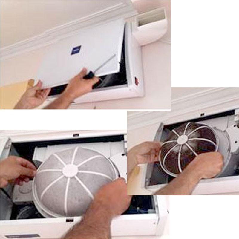 revisión sistema de ventilación SINCO