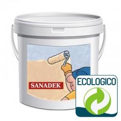 Pintura ecológica de base cal Sanadek de Azichem