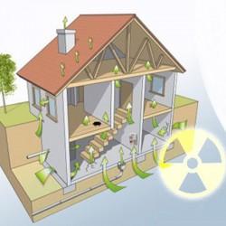 Vías de entrada del gas radón en viviendas que necesitan instalación de láminas anti-radón Sopgal