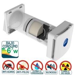 sistema de ventilacion forzada de bajo consumo