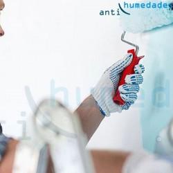Aplicación de Paintcal: Pintura de Cal Ecológica Anti-Moho impermeabilizante