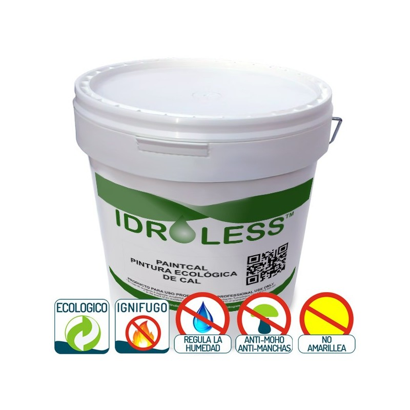 Paintcal de idroless pintura 100 ecol gica for Pintura para humedad
