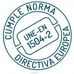 Resina de unión Sopgal homologada según norma UNE-EN 1504-2