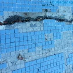 Mortero Impermeable para refuerzo de piscinas de Sopgal elimina las filtraciones de agua