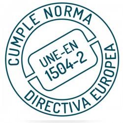 Mortero Impermeable de Sopgal certificado según norma europea UNE-EN 1504-2