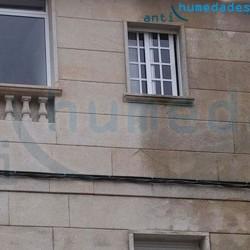 Hidrófugo en fachada de piedra Nanohidrof-9W Sin Disolventes