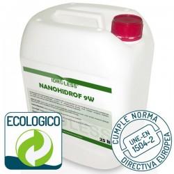 Hidrófugo Nanohidrof-9W Sin Disolventes y Ecológico de Idroless