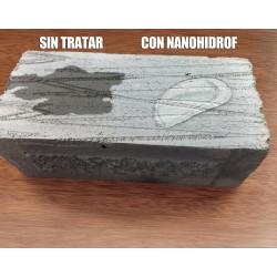 Hidrófugo Nanohidrof-9W Sin Disolventes repelente de agua