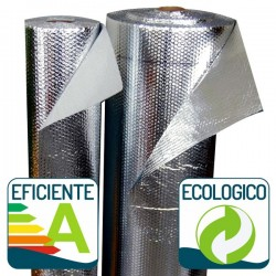 Aislante Térmico Reflexivo de Sopgal de eficiencia energética y ecológico