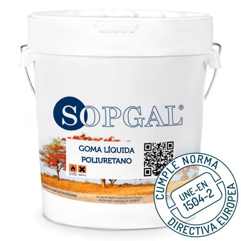 Goma Líquida de poliuretano impermeabilizante elástica Sopgal
