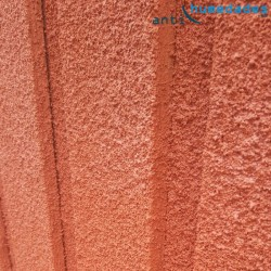 Textura de la Pintura de Corcho Proyectado natural Sopgal. Eficiente energeticamente