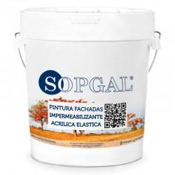 Pintura Fachadas 100% Acrílica. Productos anti humedad impermeabilizantes Sopgal