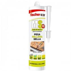 Masilla de polímeros adhesiva monocomponente MS Original de Fischer