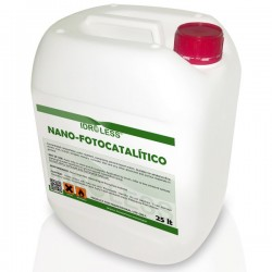 Nano-fotocatalítico limpiador de fachadas hidrofugo de Idroless
