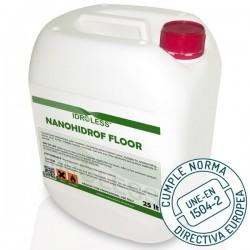 Hidrófugo Nanohidrof Floor de Idroless conforme norma UNE-EN 1504-2