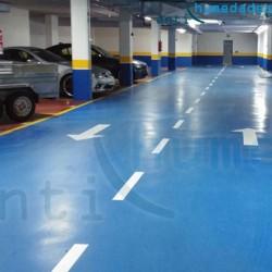 Resina epoxi para garajes y suelos transitables