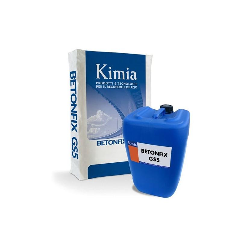 Betonfix GS5 Mortero de Kimia para revestimientos elásticos impermeabilizantes
