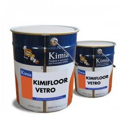 Kimifloor Vetro resina para suelo decorativa de Kimia