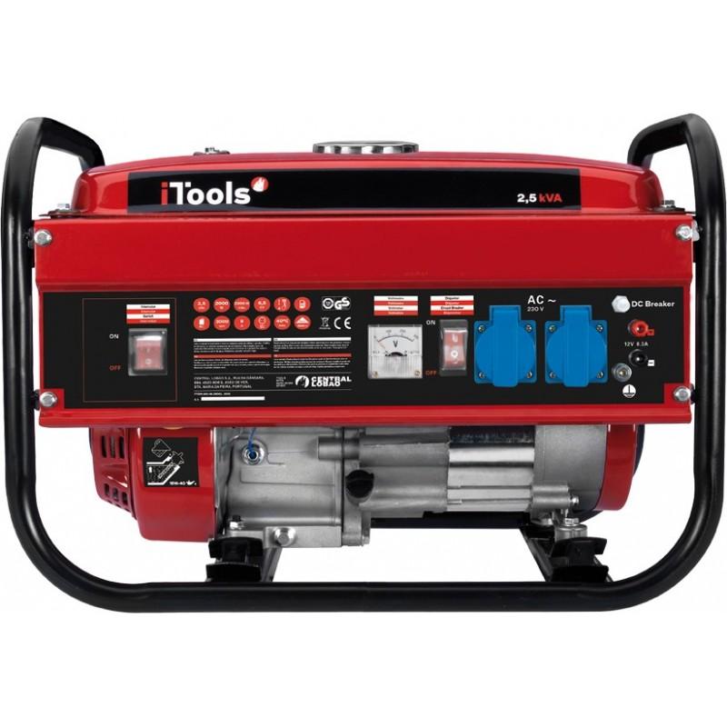 Generador el ctrico de gas itools itg25 de gasolina de 4 - Generador electrico a gas butano ...