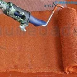 Aplicación de Pintura impermeabilizante de Caucho AntiHumedades en terraza