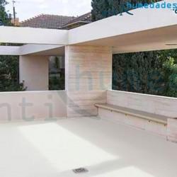 Aplicación de Pintura térmica a base de caucho especial para terrazas