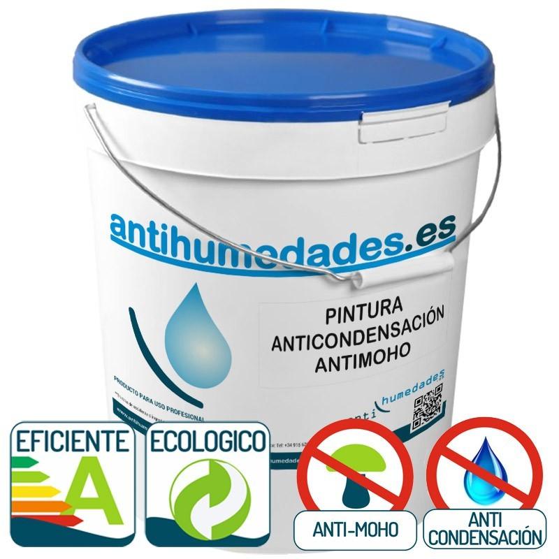 Pintura Anticondensación ECO Antimoho antihumedades para interiores