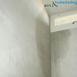 Pintura selladora antihumedad filtraciones en esquina