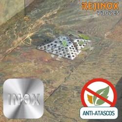 Rejilla Anti Atascos de Acero Inoxidable Easy Piramidal de Rejinox