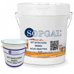 Resina Acuorreactiva de poliuretano para inyecciones Sopgal