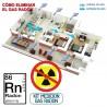 Medición de Gas Radón en viviendas: alquiler de equipo portátil