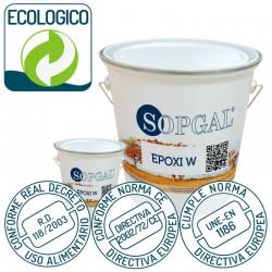 Epoxi Alimentario Base Agua sin disolventes